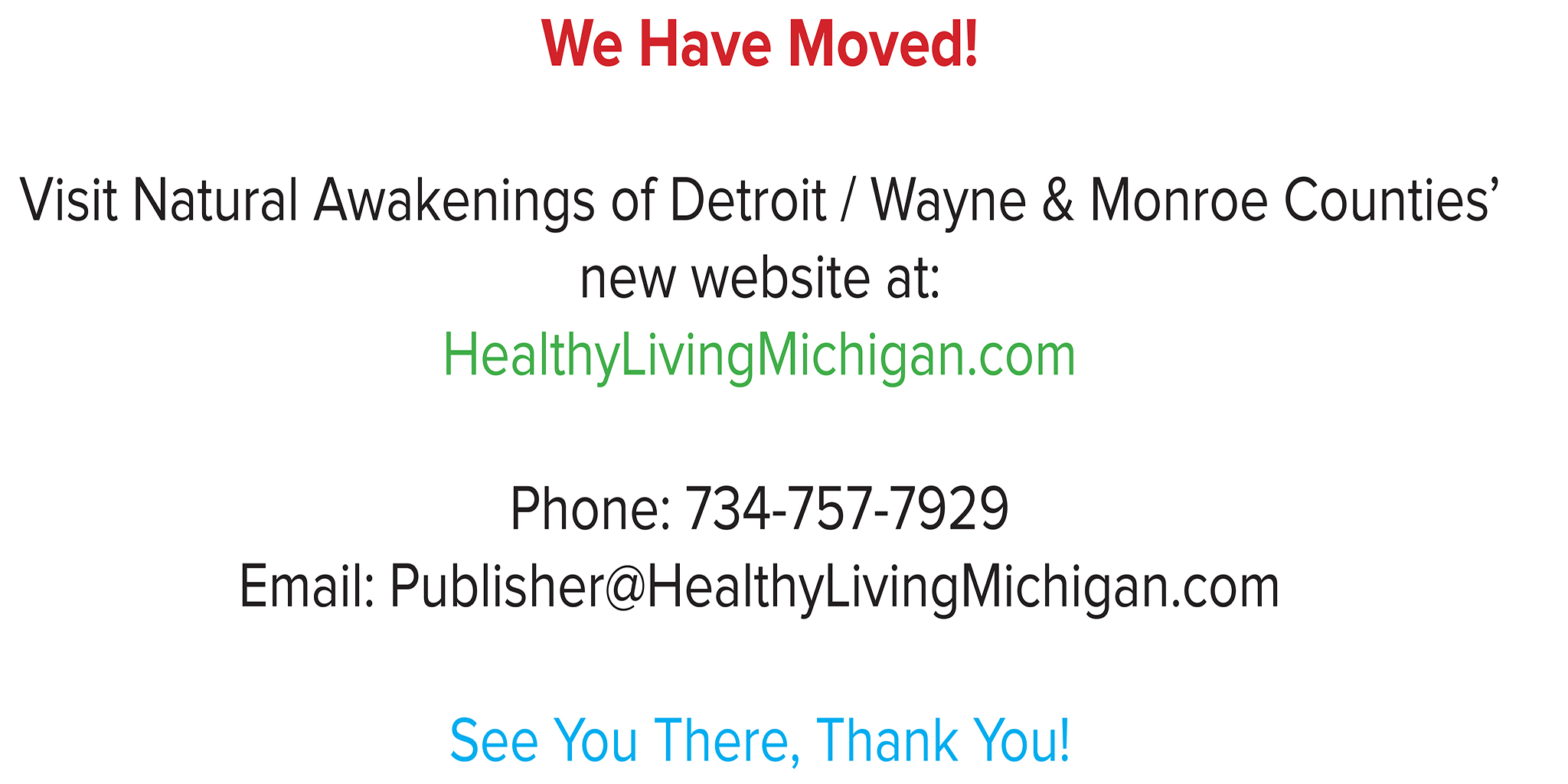 Redirect to HealthyLivingMichigan