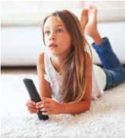 study published in the Journal for Bone and Min- eral Research this summer suggests that excessive TV watching during childhood may be associated with lower bone mineral content in young adulthood. The researchers followed 1,181 children over time and measured their weekly hours of TV watching at ages 5, 8, 10, 14, 17 and 20. The bone mineral con- tent (BMC) of each was measured at age 20. The study found that individuals that routinely watched more than 14 hours a week had lower BMC for their whole body and in their arms than those that watched less. Higher BMC helps protect the body against osteoporosis later in life. While all screen time should be monitored in children, TV appears to be the most harmful medium. A report published in the Archives of Pediatric and Adoles- cent Medicine studied 111 children between the ages of 3 and 8 and measured their TV viewing and other screen time, as well as their blood pressure levels. The study linked higher blood pressure with excessive TV viewing, but did not nd the same link between the condition and computer usage.