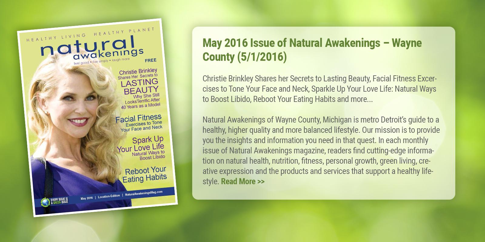 Natural Awakenings of Wayne County, Michigan